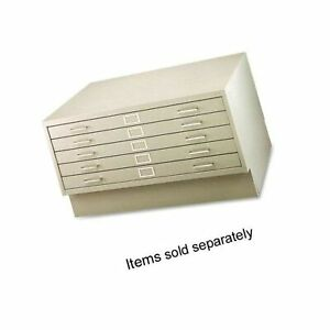 Safco Products Flat File Closed Base For 5 drawer 4994tsr Flat File Sold Sep