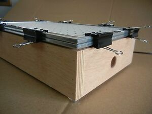 12 X 18 Vacuum Forming former Thermoform Plastic Forming Box machine table