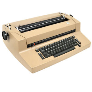 Ibm Selectric Ii Vintage Correcting Electric Typewriter As is Some Sticky Keys