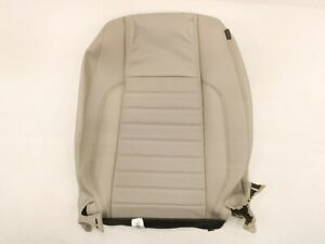 New Oem Ford Driver Seat Back Cover Stone Leather Dr3z 7664417 Hc Mustang 13 14