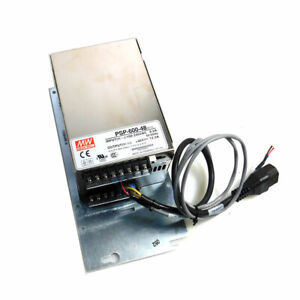 New Mean Well Psp 600 48 Switching Power Supply Unit 600 Watts 48vdc 12 5a