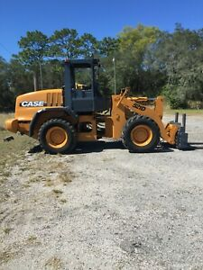 2003 Case 580m Turbo 4x4 Tractor Loader Backhoe W Full Cab Extendahoe