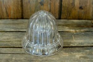 Antique Country Store Counter Bell Shaped Glass String Holder No Bottom