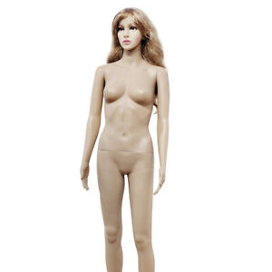 Full Body Dummy Mannequin Dressmaker Lady Female Straight Foot Body Model
