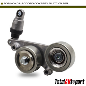Belt Tensioner Assembly W Pulley For Honda Accord Odyssey Pilot 3 5l 39092