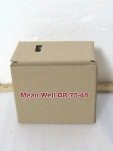 Mean Well Dr 75 48 Ac dc Industrial Din Rail Power Supply Output 48vdc cta