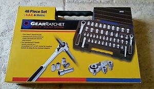 8946 Gearwrench 1 4 And 3 8 Socket Set New