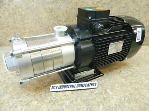 Cnp Horizontal Multistage Centrifugal Pump Chlf4 40slsc Stainless 2 Hp