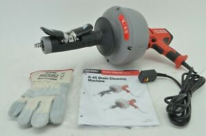 Ridgid 35473 K 45af Autofeed Drain Cleaning Machine With C 1 5 16