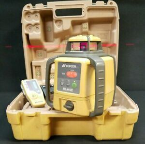 Topcon Rl h4c Rechargeable Rotary Laser Level With Ls 80a Receiver 25