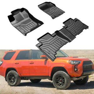 3pcs Floor Mats Full Set Fits 2013 2020 Toyota 4runner And 2014 2020 Lexus Gx460