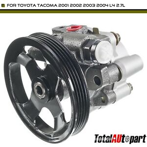 Power Steering Pump With Pulley For Toyota Tacoma 2001 2002 2003 2004 L4 2 7l