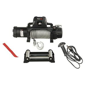 Rugged Ridge 15100 24 Winch 12500 Lbs Capacity 85 Ft Steel Cable Wired Remote