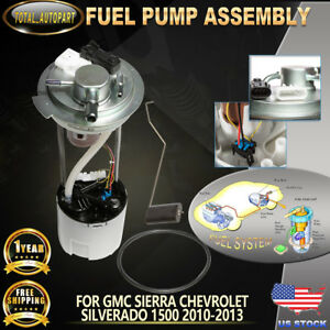 Fuel Pump Assembly For Chevrolet Silverado1500 Gmc Sierra1500 2010 13 P77036m