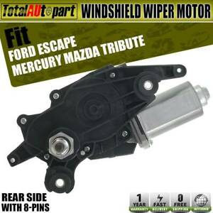 Windshield Wiper Motor Rear Side For Ford Escape Mercury Mazda Tribute 2008 2012