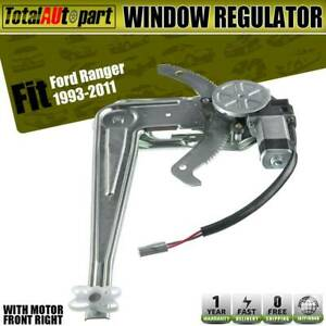 Window Regulator W Motor Front Right For Ford Ranger Pickup 1993 2011 741 832