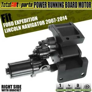 Power Running Board Motor Right For Ford Expedition Lincoln Bracket 9l7z16a506a