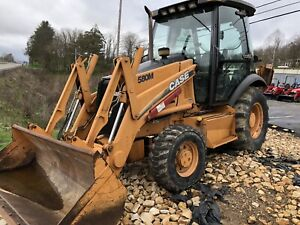 2002 580 M Case Backhoe
