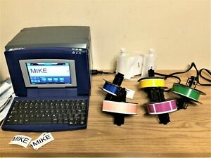 Bbp31 Brady Label Printer Sign Printer S3100 Style Keyboard Touch Screen Extras
