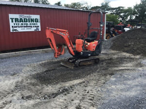 2013 Kubota Kx008 3 Hydraulic Mini Excavator Super Clean Only 1300hrs
