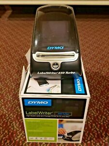 Dymo Labelwriter 450 Turbo Label Printer High Speed 1750283