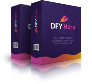 Dfy Hero 2 0 new 2020 Includes Hosting And 100 Awesome Templates