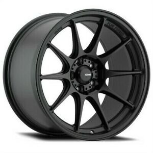 4 New 18x9 5 Konig Dekagram Black Semi Matte Wheel Rim 5x120 Et22 Dk98520225