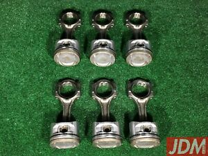 Toyota 2jzgte Connecting Rods Pistons Aristo Supra 13201 46040 13101 46091