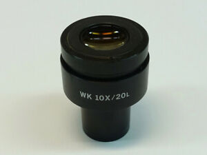 Olympus Wk 10x 20l Microscope Eyepiece Excellent Condition