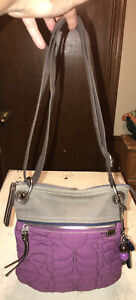 Fossil Vintage Quilted Key-Per CrossbodyShoulder Bag  ZB4422 $14.50