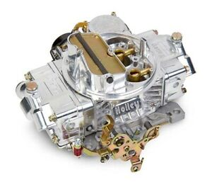Holley 0 80458sa Dual Line 600 Cfm Carburetor Electric Choke Vacuum Secondary