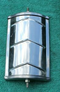 one Vintage Retro Chrome Truck Side View Mirror 8 Inch Tall