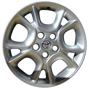 69445 Used Toyota Sienna 2004 2007 17 Inch Wheel Rim All Silver Painted