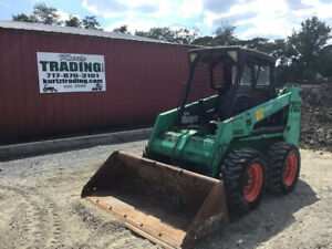 2002 Bobcat 763 Skid Steer Loader W Kubota Diesel Engine Only 2000 Hours