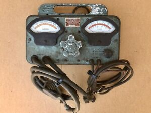 Vintage Sun Model Model Y Battery Starter Tester Untested