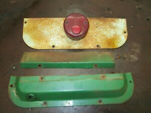 Oliver 1650 Rear Fender Trim Panel Tail Light Mouting Assembly Antique Tractor