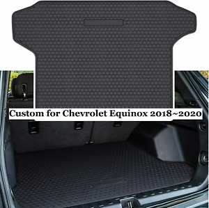 For 2018 19 2020 Chevy Equinox Cargo Mat Tray Liner Rear Truck Protector Rubber