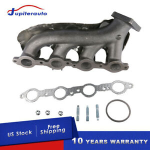 Driver Lh Side Exhaust Manifold For Cadillac Escalade Chevy Silverado Gmc Sierra