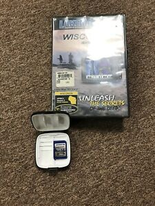 Lake master HUMMINBIRD GPS FISHFINDER MAPCARD  WISCONSIN Version 3