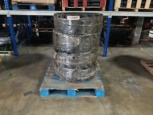 4 Used Summit Solid Skid Steer Tires 12x16 5 With Rims