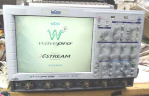Lecroy Wavepro7300a 2 3ghz 20g s Quad 10gs s Digital Oscilloscope Option Xl Gpib