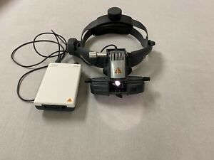 Heine Omega 500 Bio Indirect Ophthalmoscope With Mobile Mpack Battery