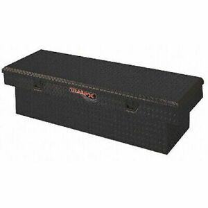 Trailfx 111722 Truck Tool Box Crossover Deep Single Lid Black 72x19x19 5 W Tray