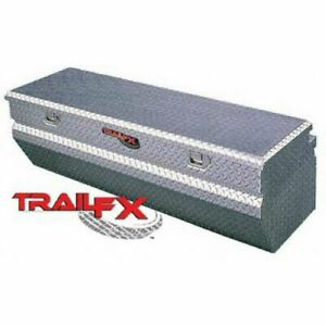 Trailfx 150601 Truck Tool Box Chest Single Lid Aluminum 60x20x17