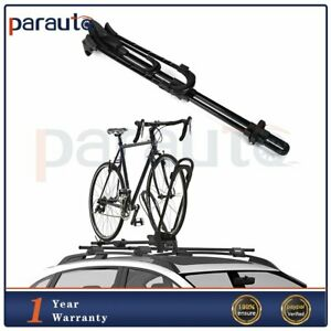 Universal Car Roof Top Bicycle Carrier Rack For One Bike Max Carrier iron 1 Pcs