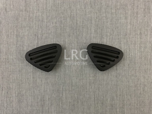 Ford Thunderbird Lincoln Ls Dash Defrost Vents Midnight Black Oem Set Of 2