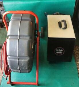 Ridgid Seesnake 71rk With Lcd Monitor With Vcr 63 004309