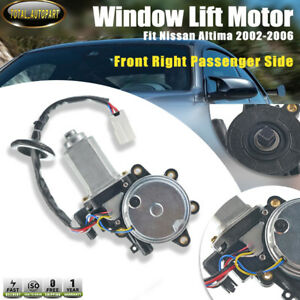 Window Lift Motor For Nissan Altima 2002 2006 Front Right Side Passenger Side
