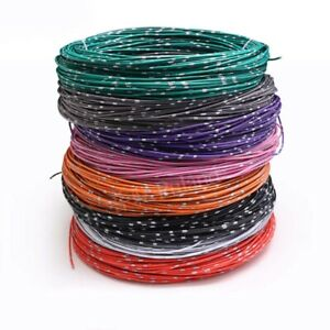 Thin Wall Cable Automotive Low Voltage Power Copper Wire 0 5mm Variou Colours