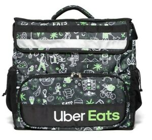 Uber Eats Delivery Insulated Backpack Limited Edition Artist Series Bag sophia